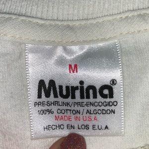 Vintage Tops - Vintage Embroidered Maui Off-White T-Shirt